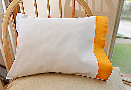 baby pillowcases, baby pillow shams