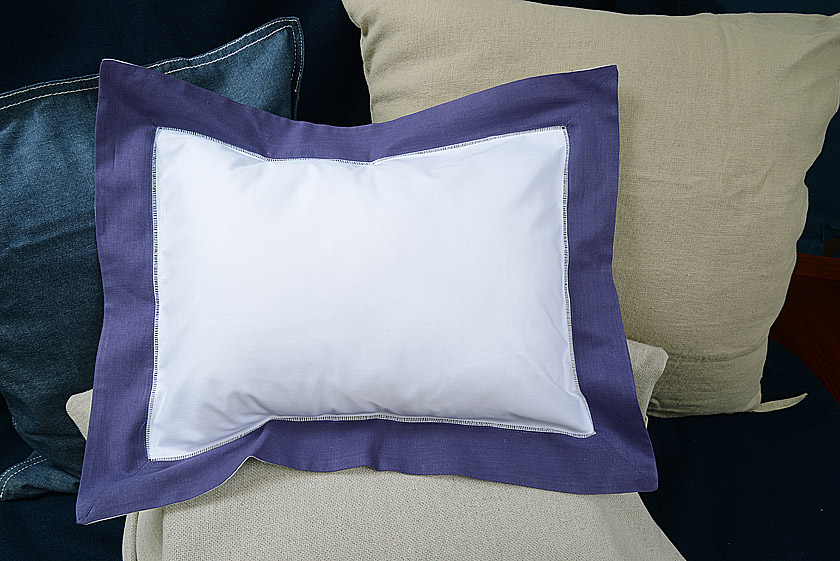 Baby Pillow Sham. Imperial Purple color