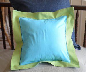 Aqua & Hot Green