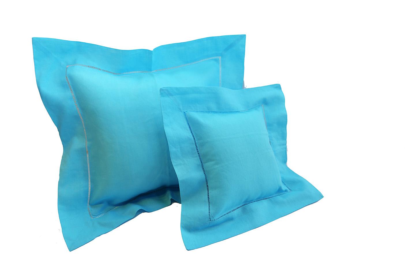 Baby pillow. Aqua colored