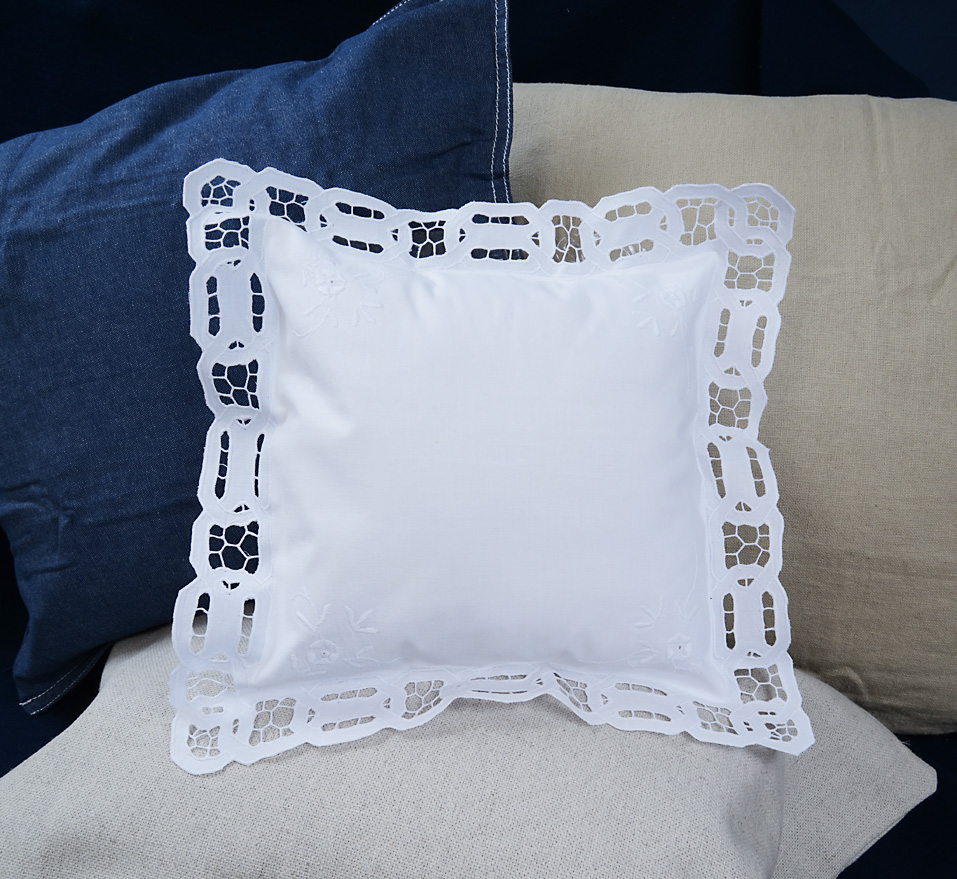 Baby Square Pillow. Cutworks.